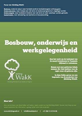 Stichting WakK brochure projecten